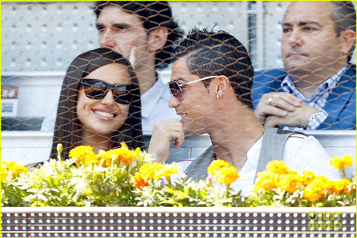 cristiano ronaldo irina shayk madrid open game after xti event 04