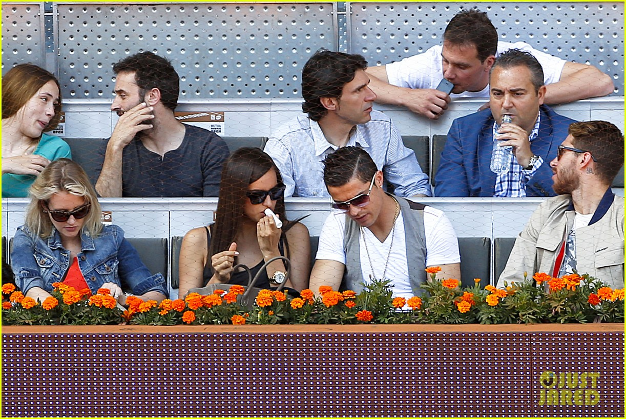 cristiano ronaldo irina shayk madrid open game after xti event 262867913