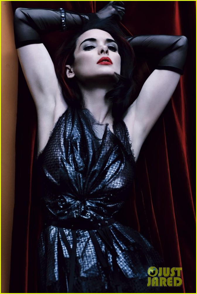 winona ryder covers interview magazine may 2013 012865816