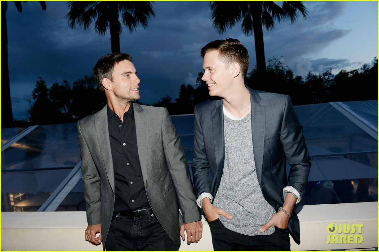 bill skarsgard colin egglesfield support rhinos at cannes 16