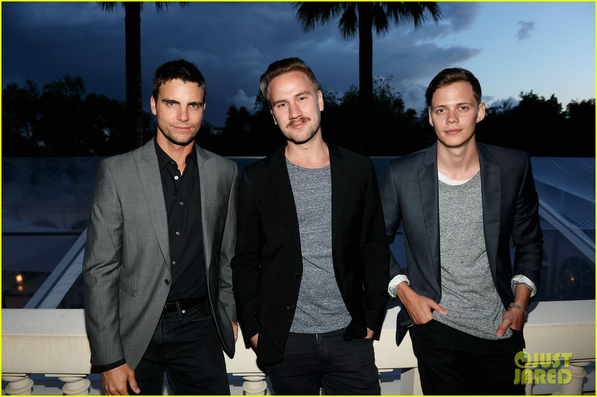 bill skarsgard colin egglesfield support rhinos at cannes 20