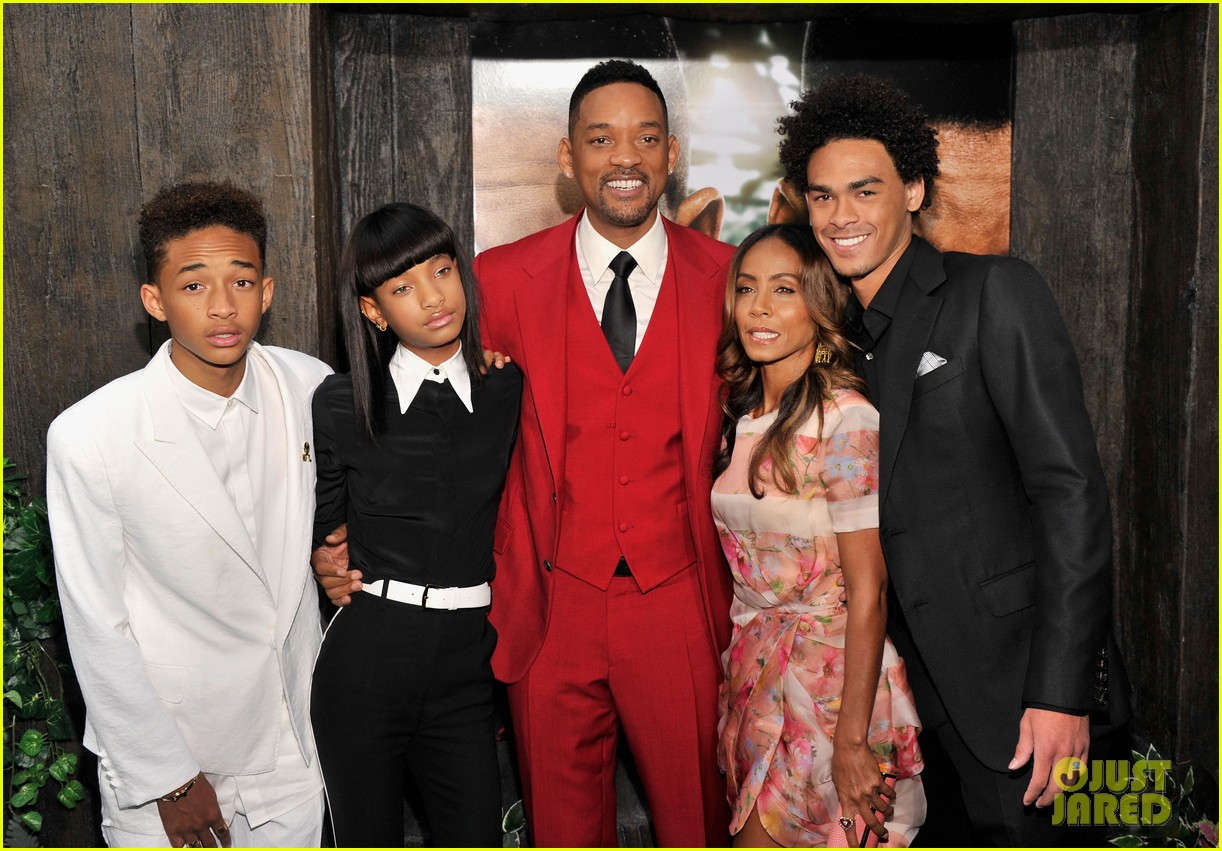 jada will smith after earth premiere with willow jada trey 18