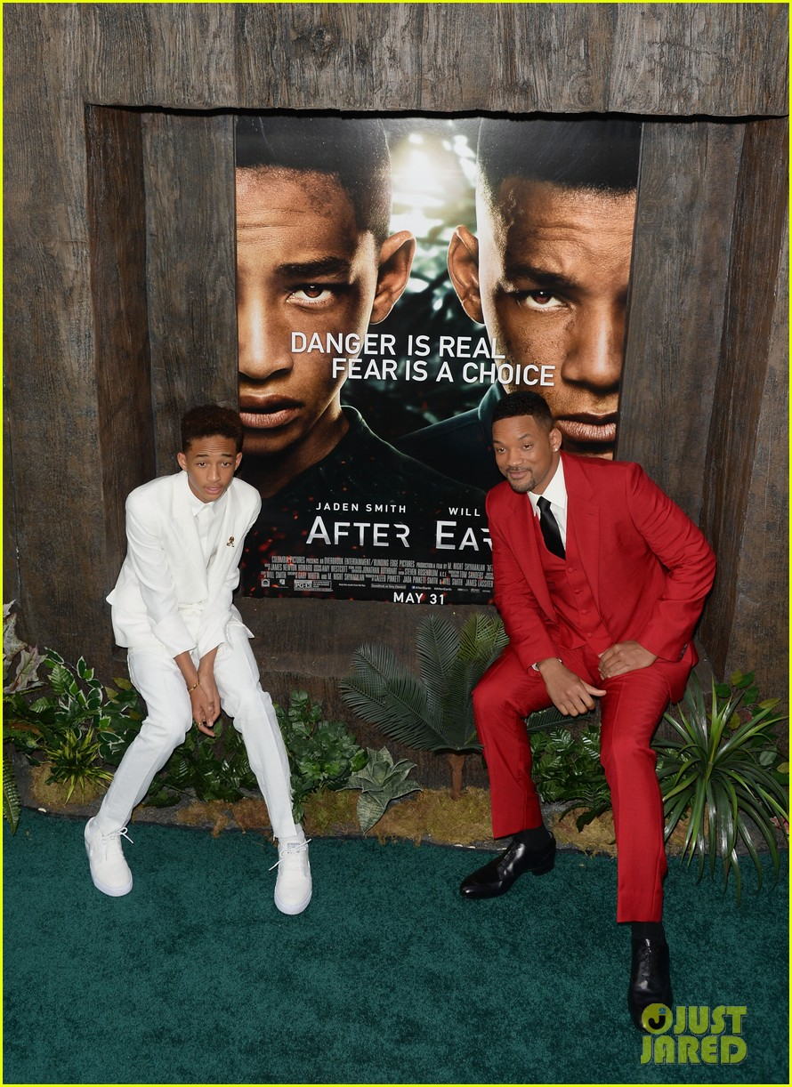 jada will smith after earth premiere with willow jada trey 20