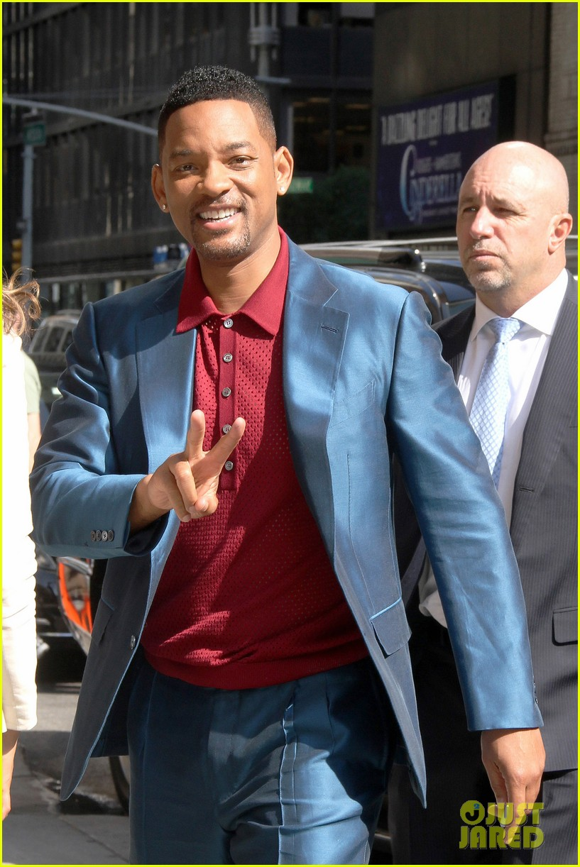 will smith impromptu rap on david letterman 08
