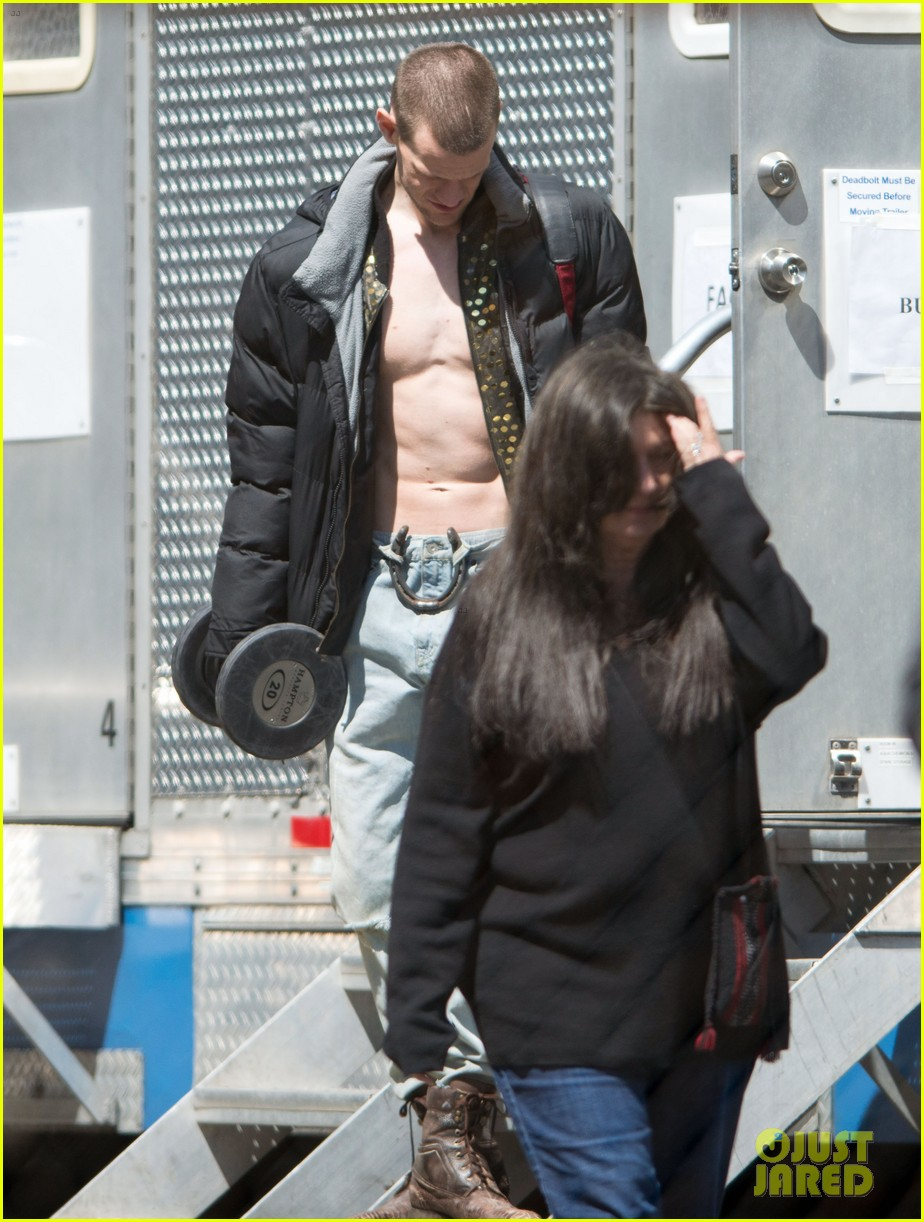 matt smith shirtless singer for how to catch a monster 02