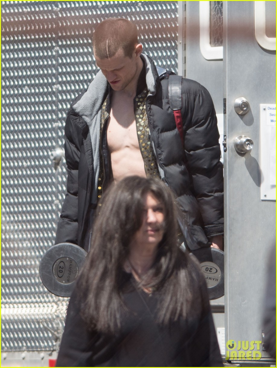 matt smith shirtless singer for how to catch a monster 122869639