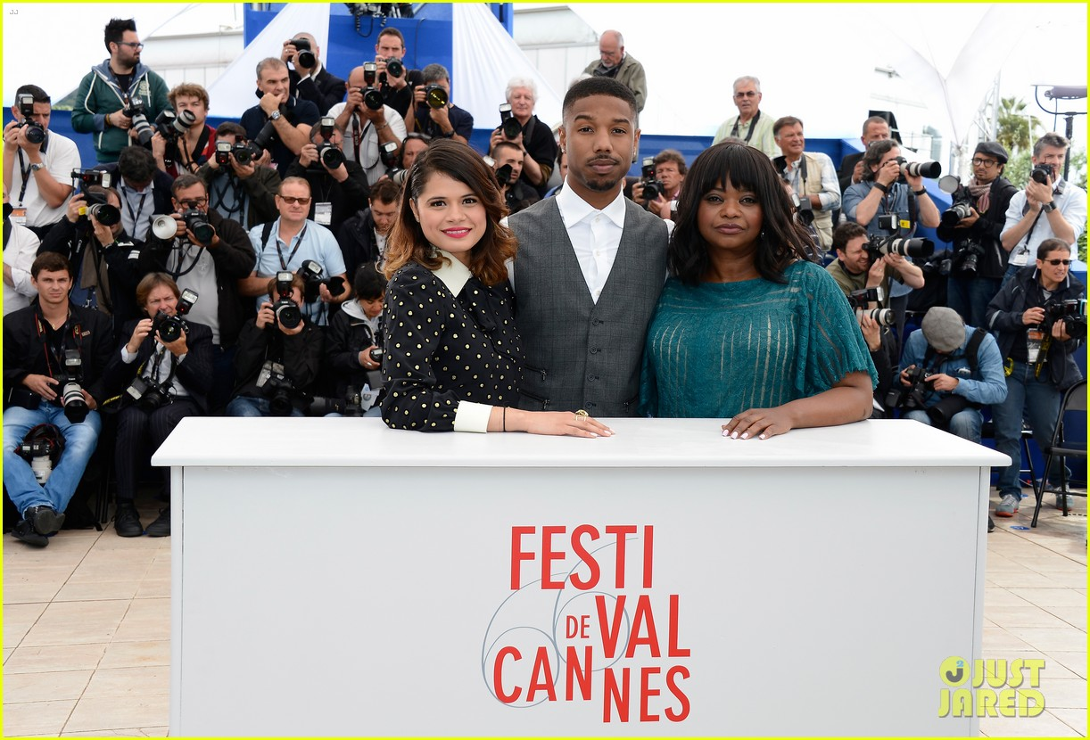 octavia spencer michael b jordan fruitvale station at cannes 06
