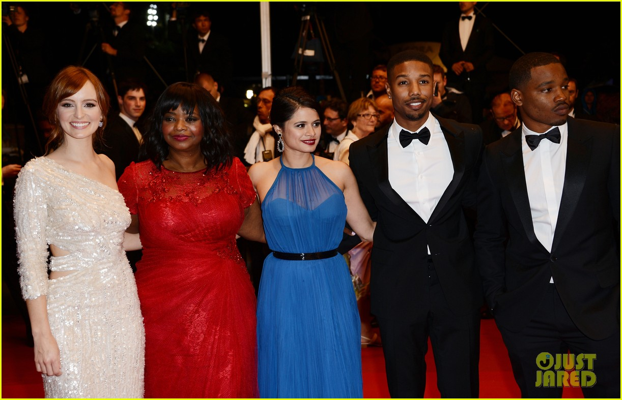 octavia spencer michael b jordan fruitvale station at cannes 31