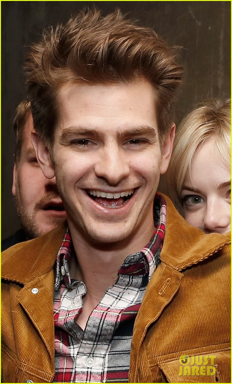 emma stone andrew garfield bull opening night 09