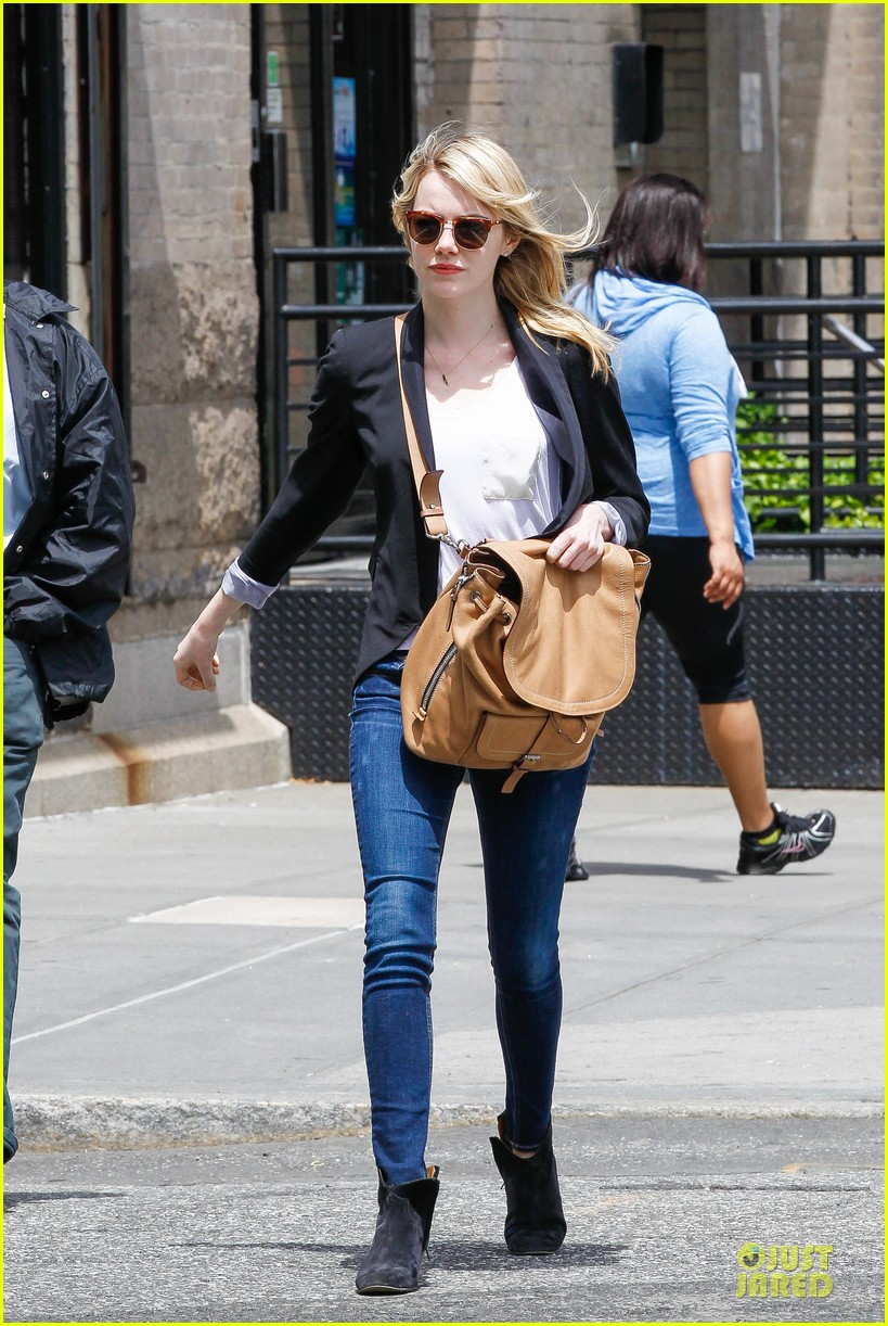 emma stone andrew garfield separate new york strolls 21