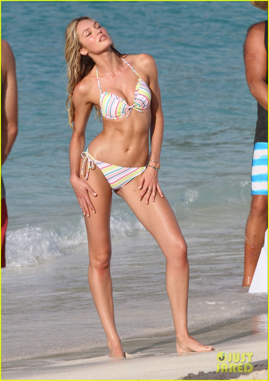 candice swanepoel in bikini photo shoot on the beach 182868735