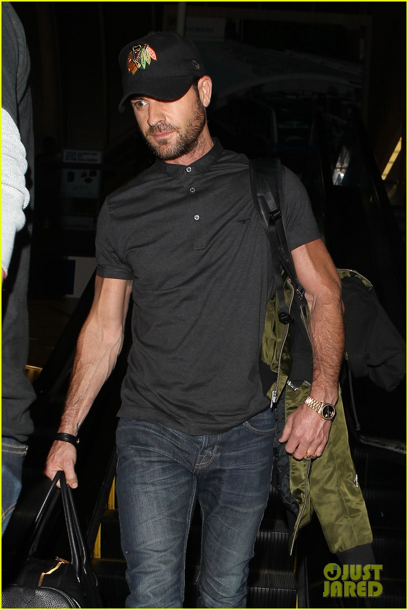 justin theroux from new york to lax 10