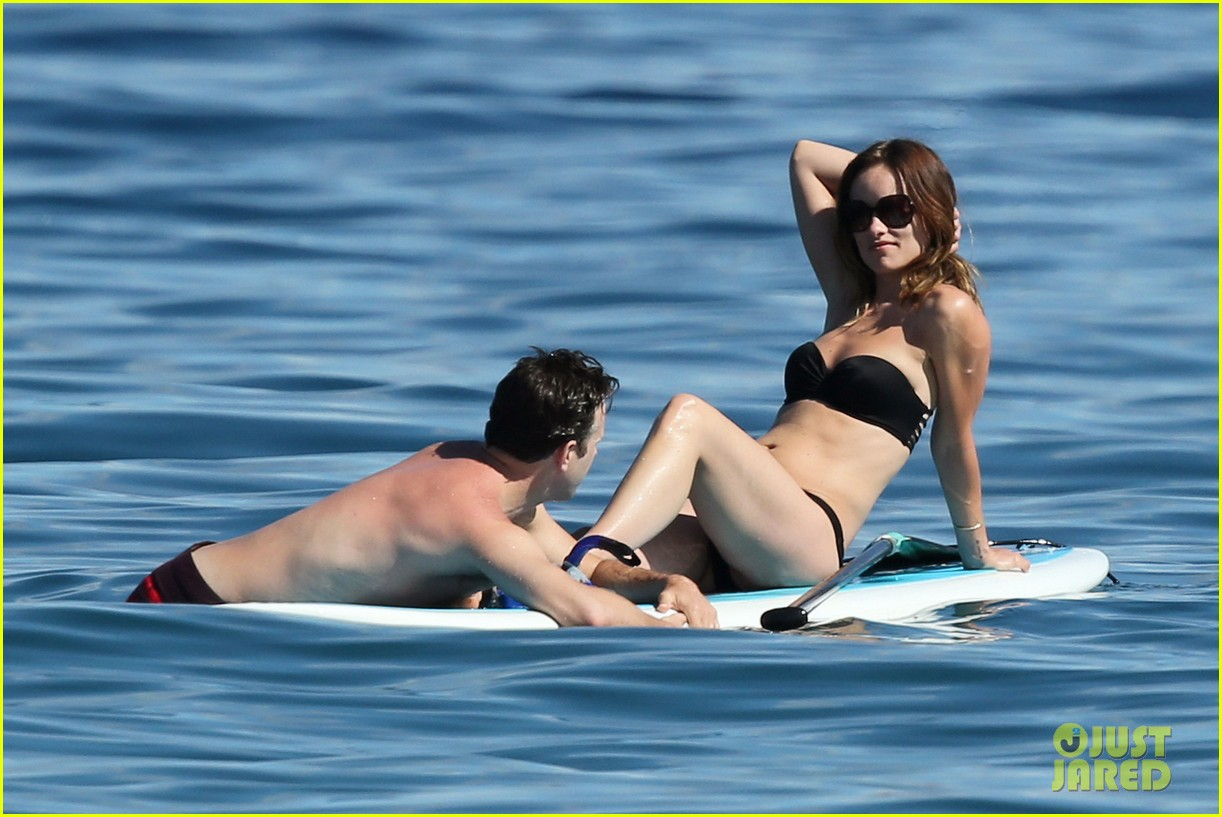 olivia wilde bikini vacation with shirtless jason sudeikis continues 052879335