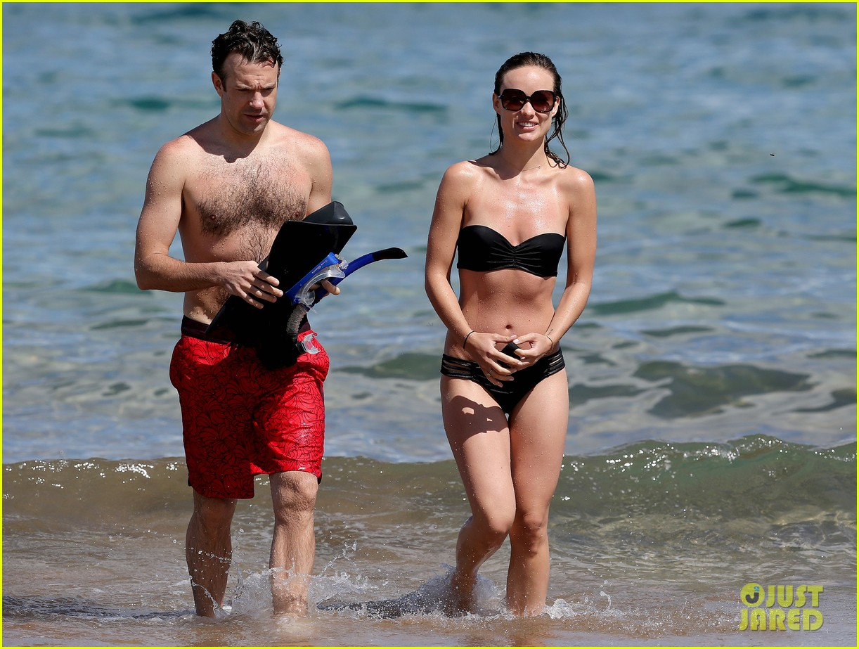 olivia wilde bikini vacation with shirtless jason sudeikis continues 092879339