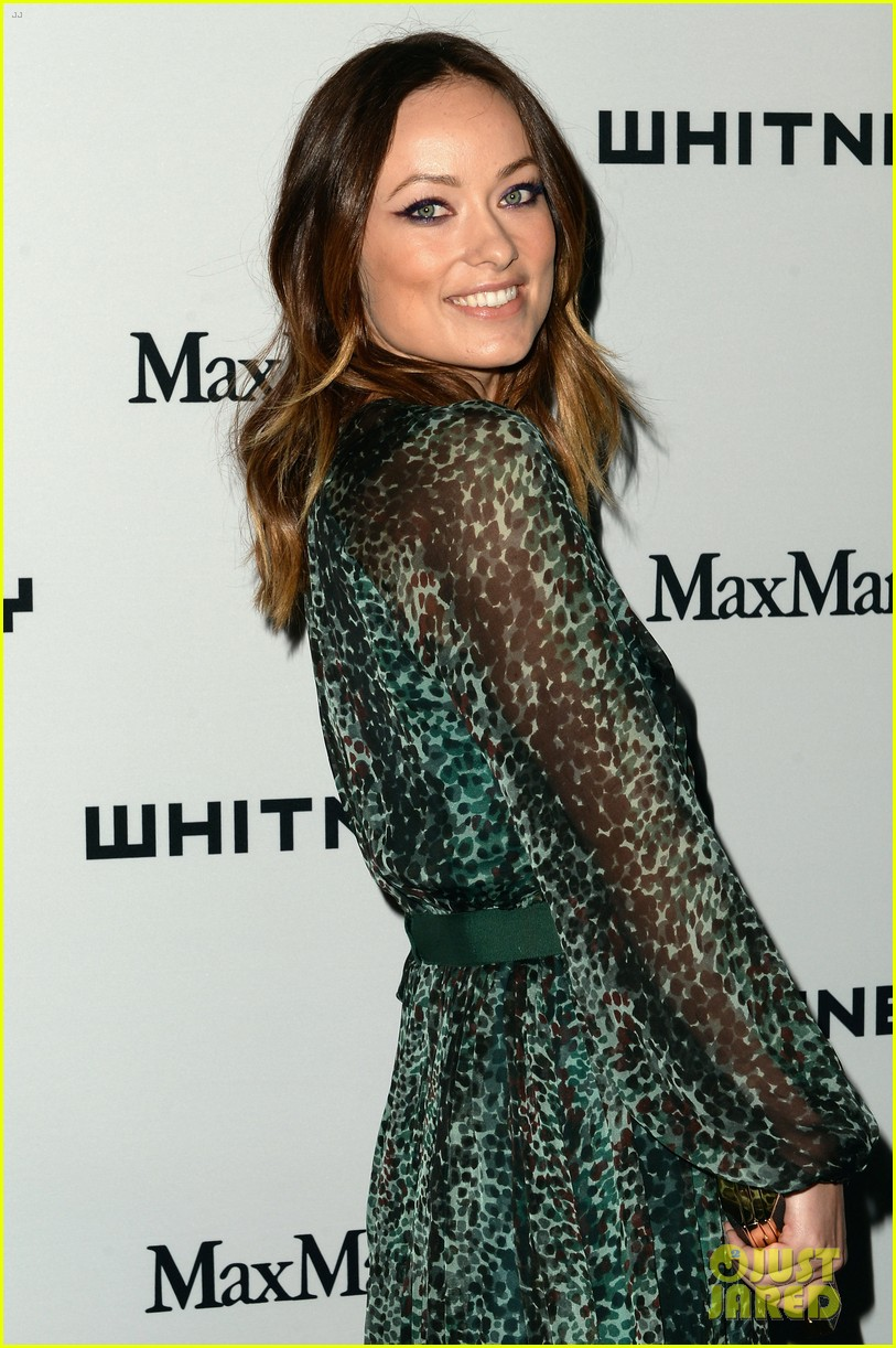 olivia wilde lake bell whitney museum art party 062862138