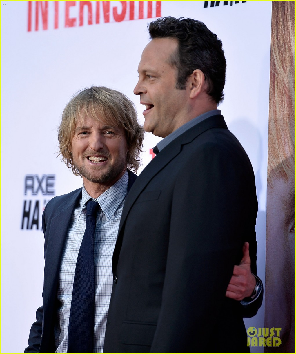 owen wilson vince vaughn the internship premiere 102880385