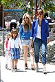jessica alba cash warren honors kindergarten graduation lunch 06