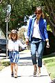 jessica alba cash warren honors kindergarten graduation lunch 18