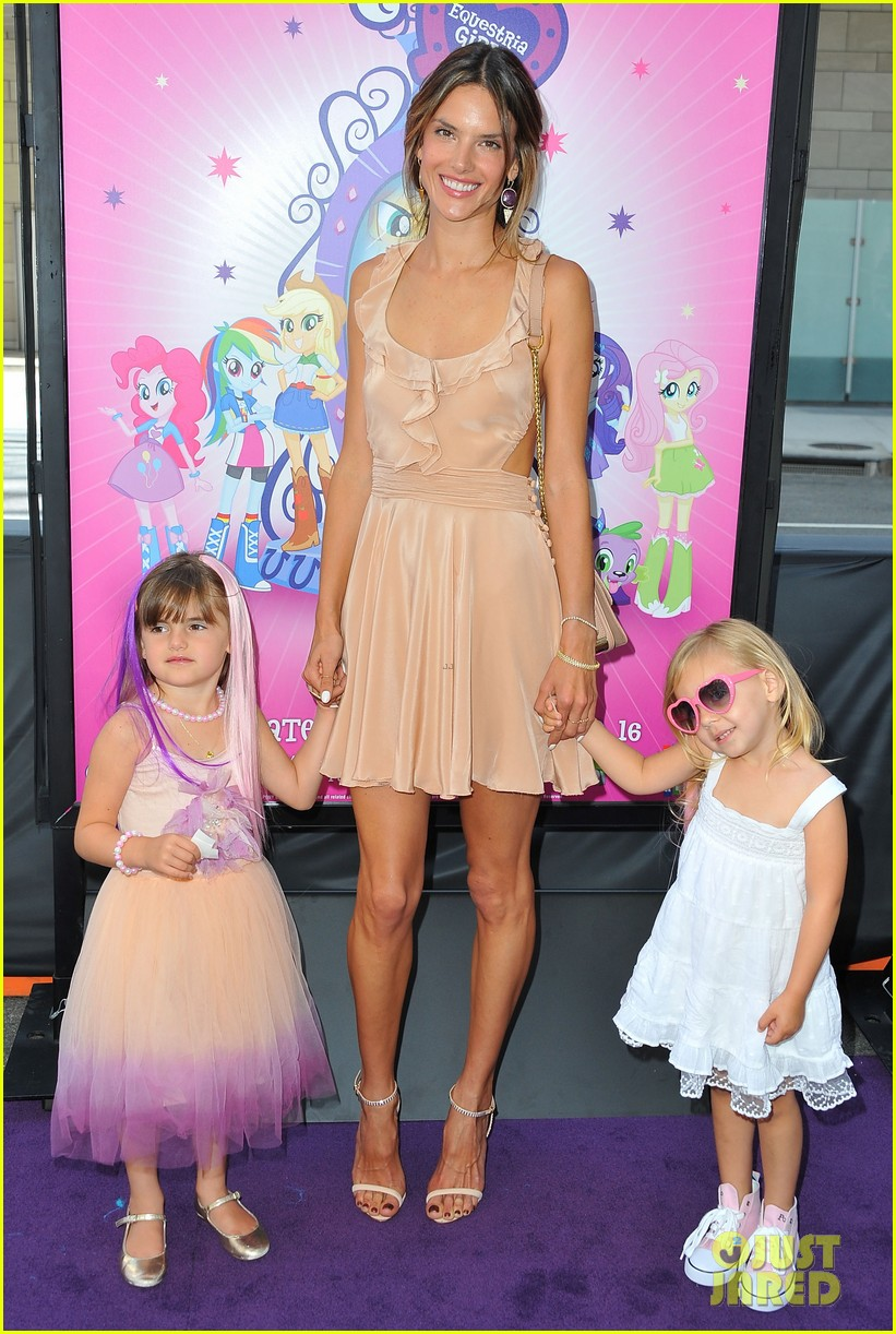 alessandra ambrosio my little pony premiere after anja graduation 09