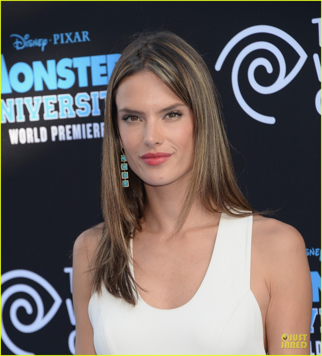 alessandra ambrosio garrett clayton monsters university premiere 022893528