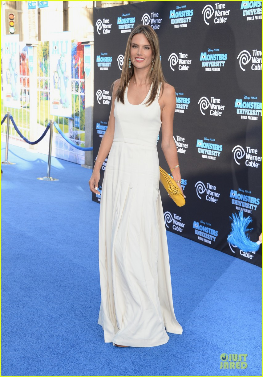 alessandra ambrosio garrett clayton monsters university premiere 12