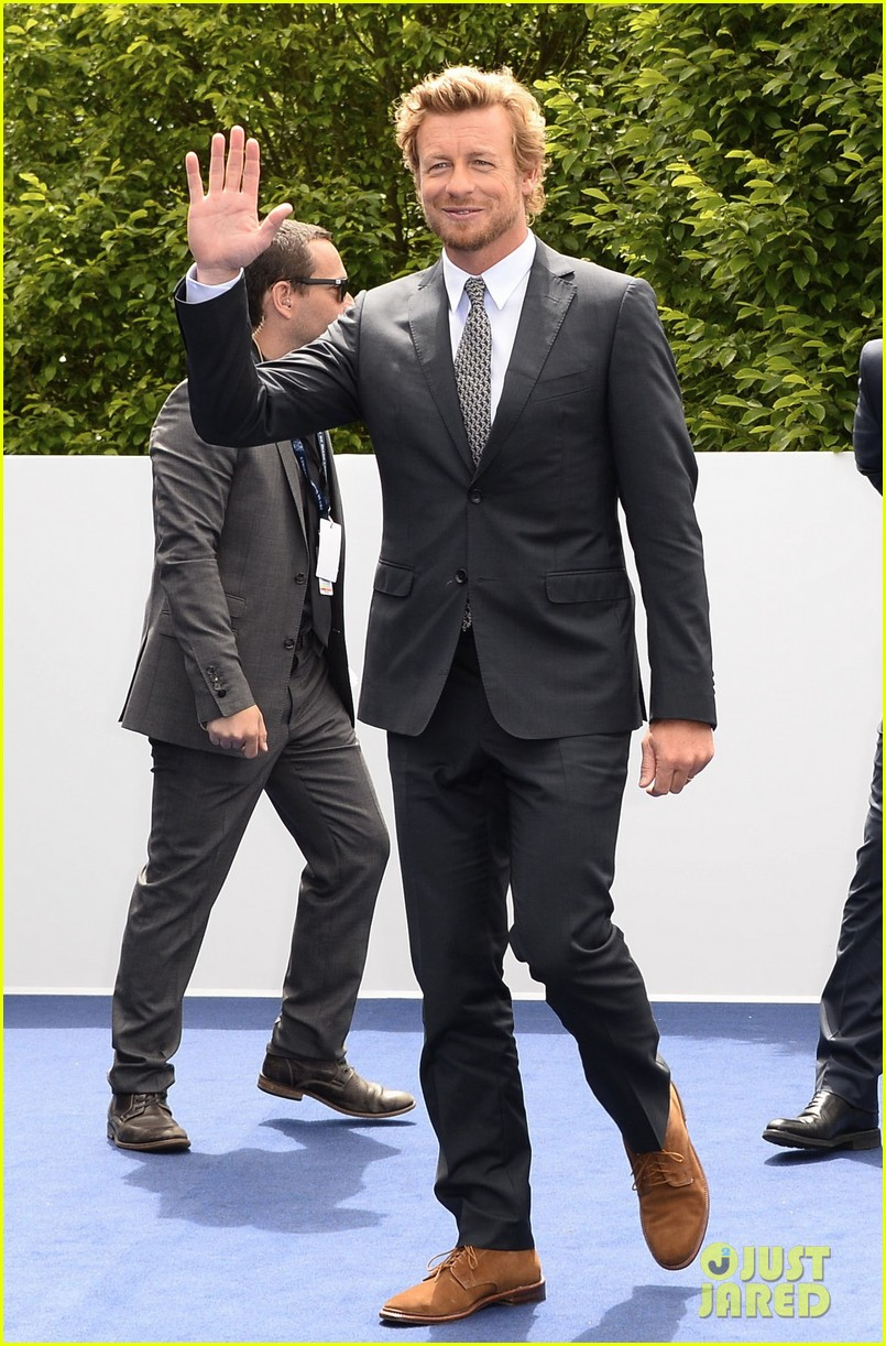 simon baker prix de diane longines in paris 122892822