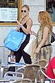 bar refaeli toned arms for madrid shopping trip 30