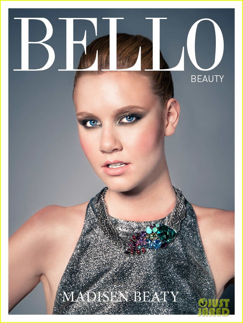madisen beaty covers bello beauty issue 06
