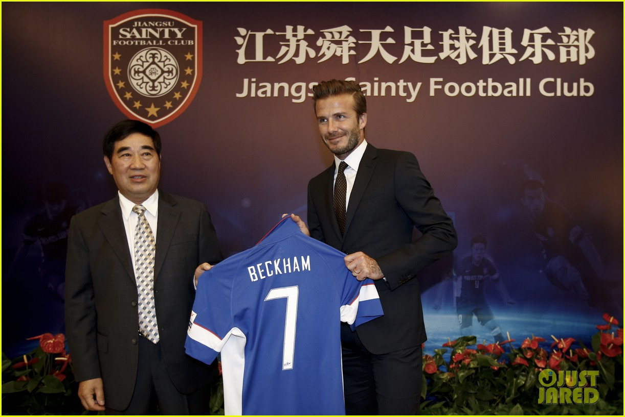 david beckham visits china 13