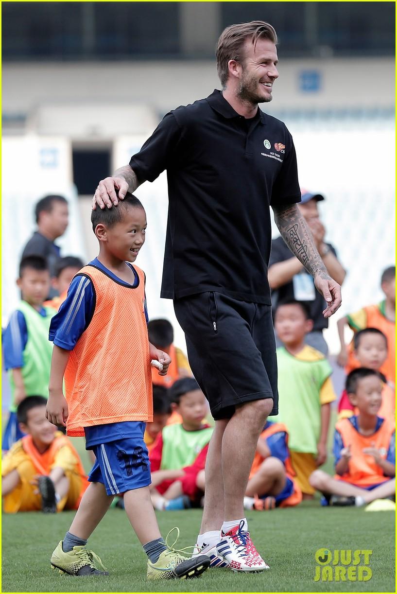 david beckham visits china 282893647