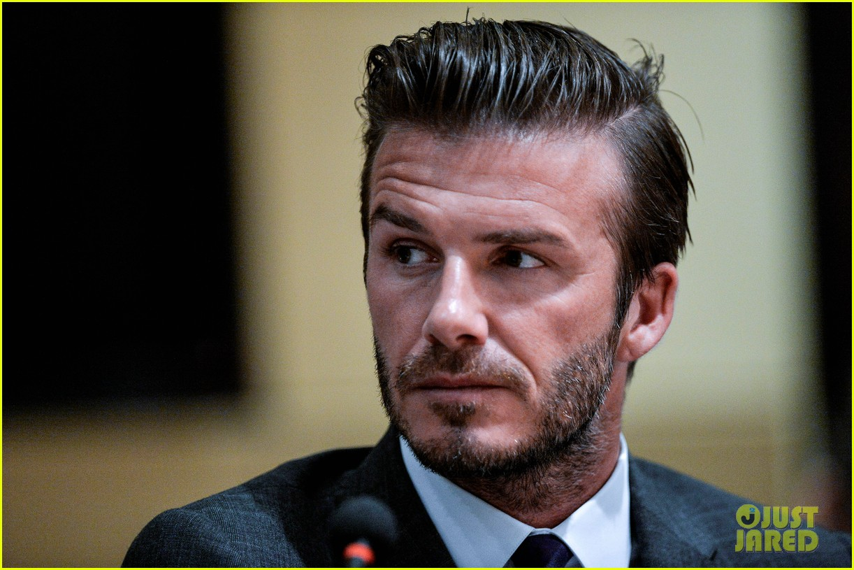 david beckham third day of china visit 072894407