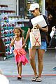 pregnant halle berry sheer top at bristol farms with nahla 01