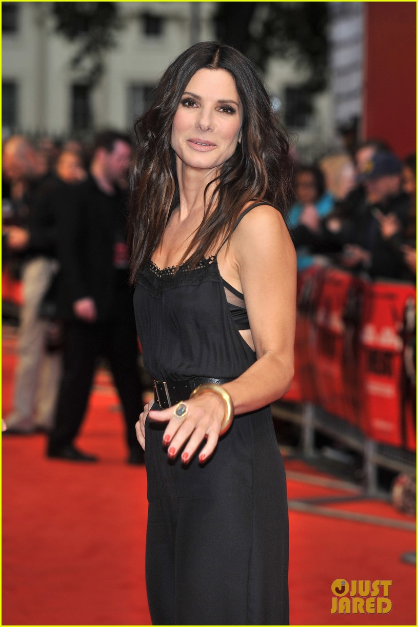 sandra bullock the heat gala screening in london 09
