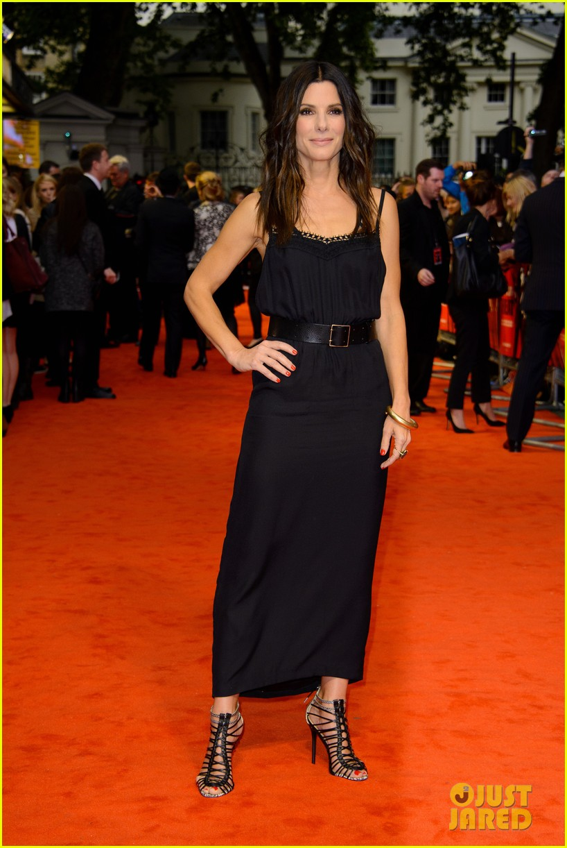 sandra bullock the heat gala screening in london 102890684
