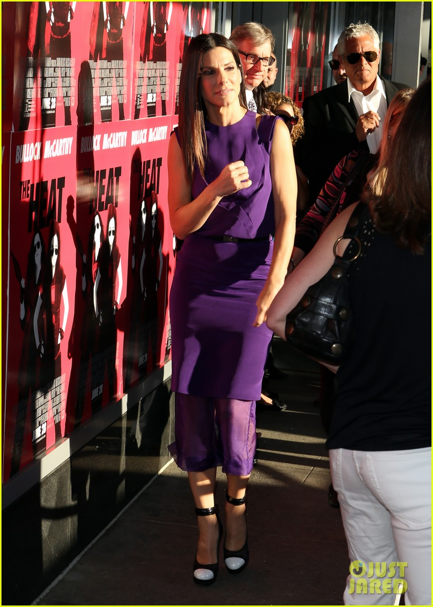 sandra bullock the heat boston premiere 082895566