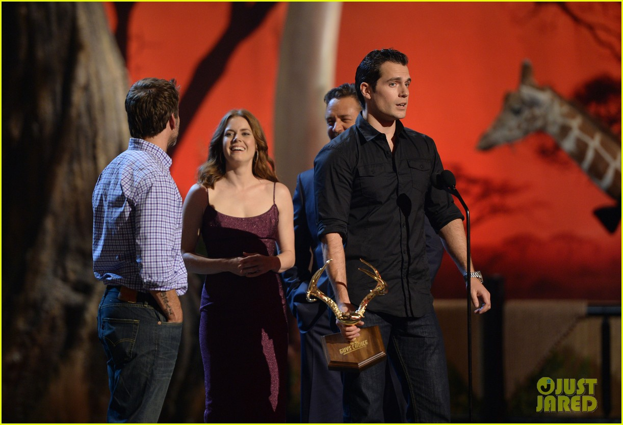 henry cavill amy adams guys choice awards 2013 052887396
