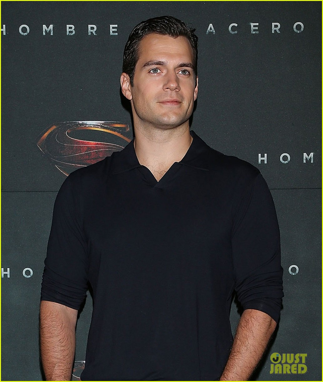 henry cavill man of steel mexico city photo call 01