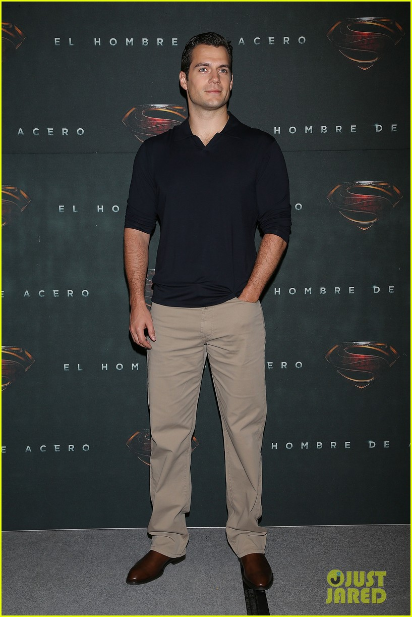 henry cavill man of steel mexico city photo call 042886670