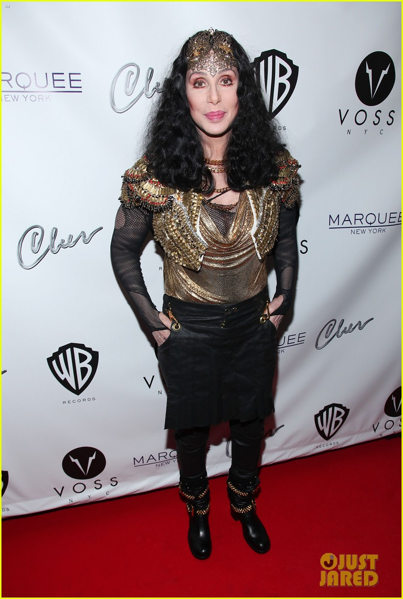 cher promotes womans world in new york city 062899841