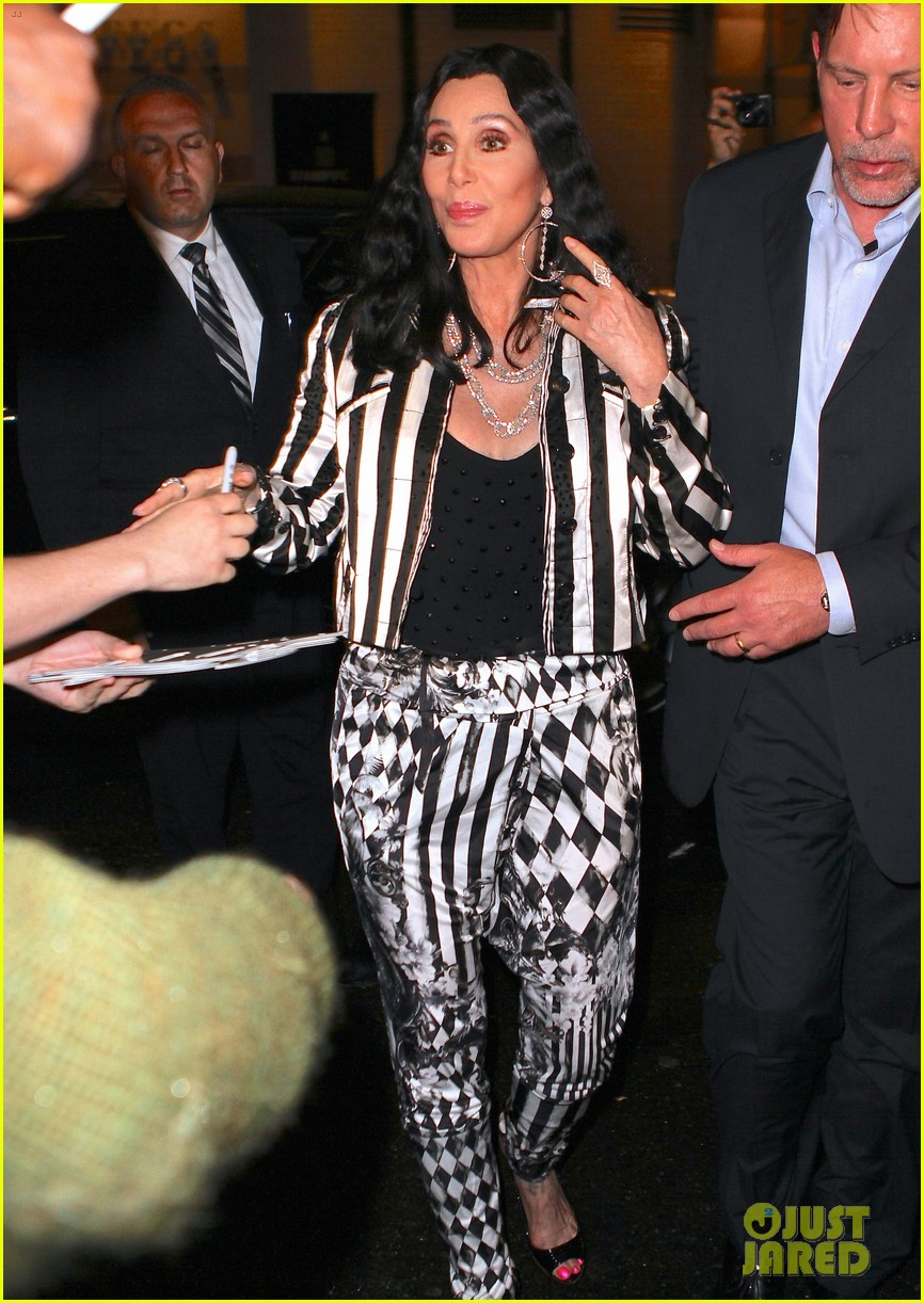 cher promotes womans world in new york city 10