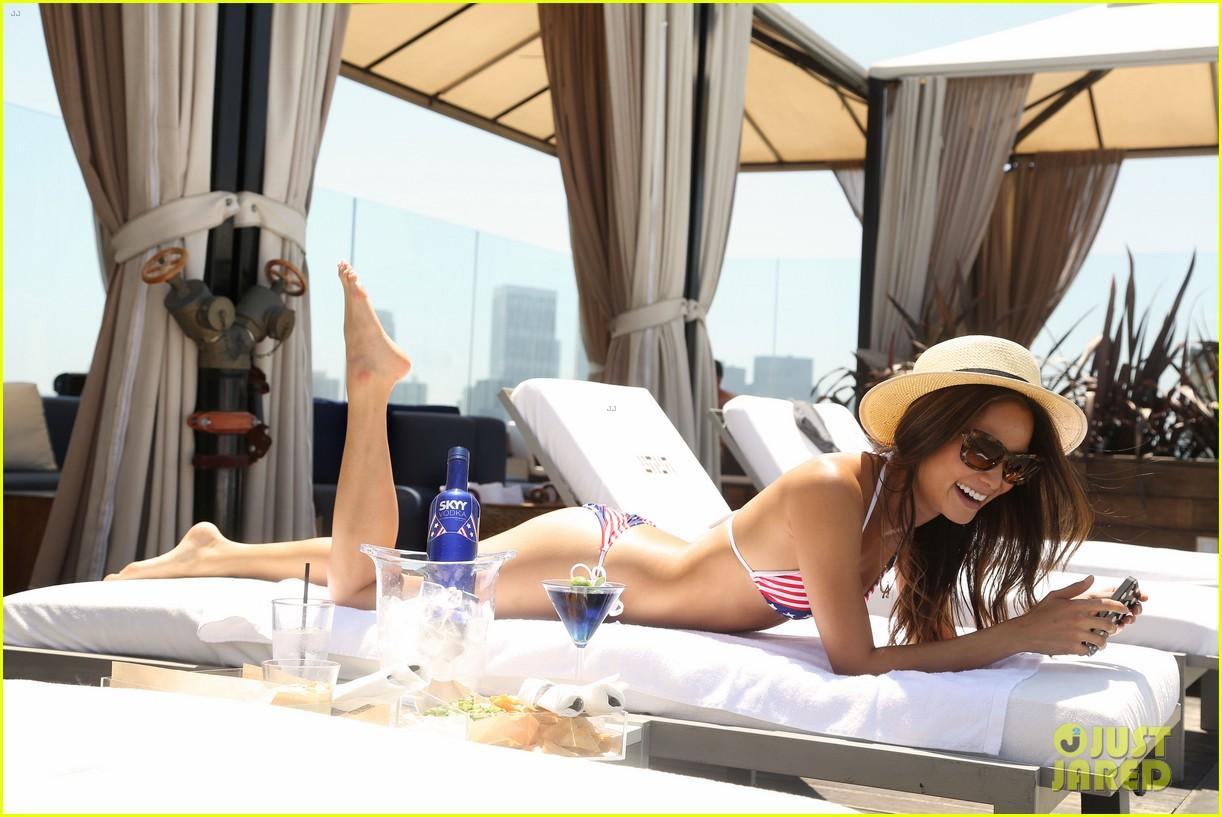 jamie chung poolside bikini babe 122894249