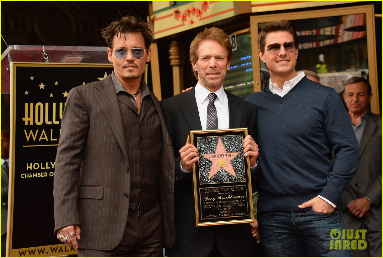 tom cruise johnny depp jerry bruckheimer star ceremony 03