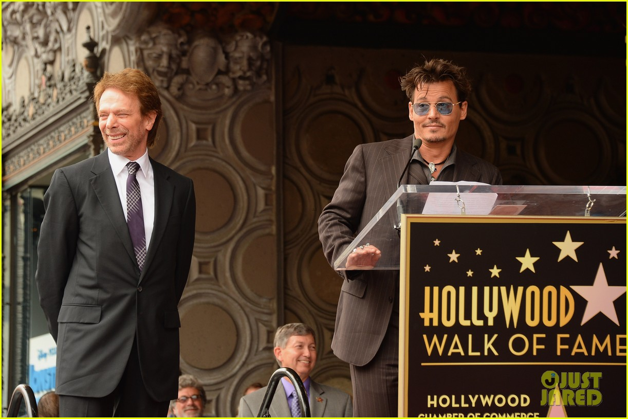 tom cruise johnny depp jerry bruckheimer star ceremony 10