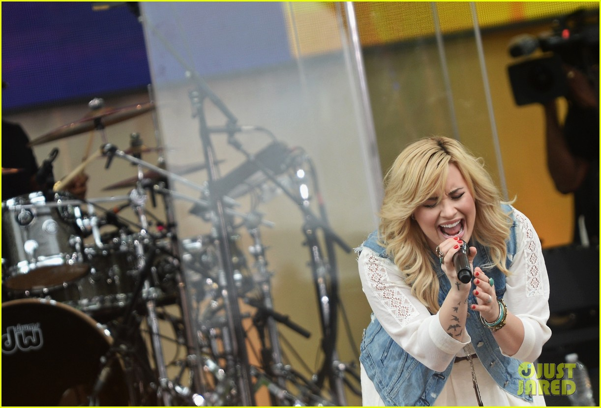 demi lovato good morning america summer concert performer 172899965