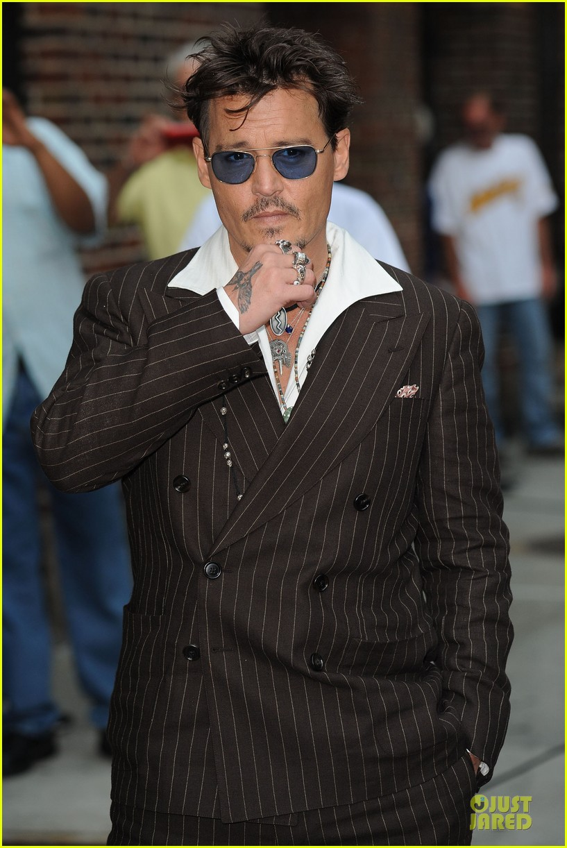 johnny depp lone ranger promotion on letterman 082898523