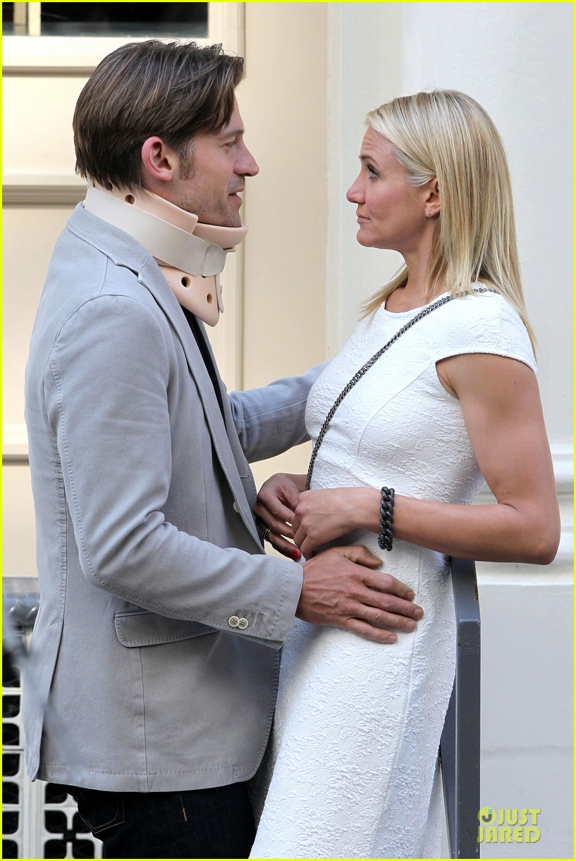 cameron diaz nikolaj coster waldau neck brace on other woman set 062895987