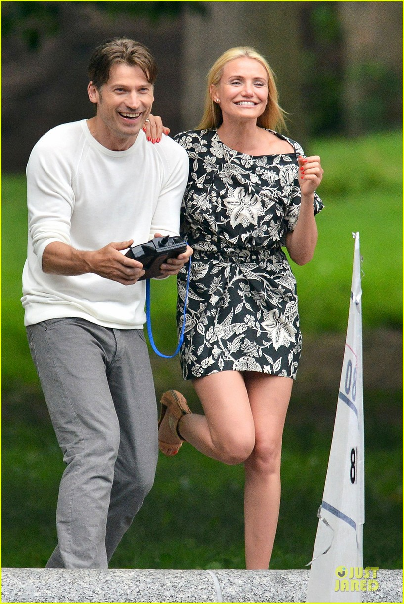 cameron diaz other woman lunch break with costars 07
