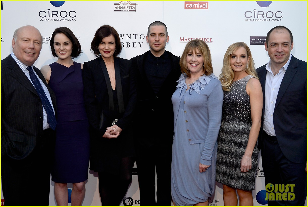 michelle dockery an evening with downton abbey cast 18