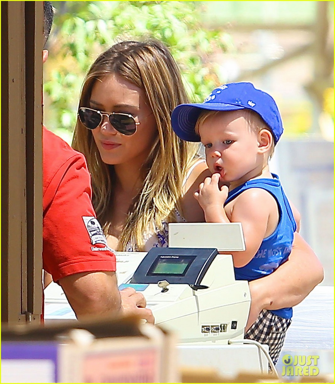 hilary duff family farm fun with sister haylie 322896840