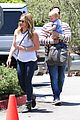 hilary duff fathers day weekend mike comrie baby luca 02